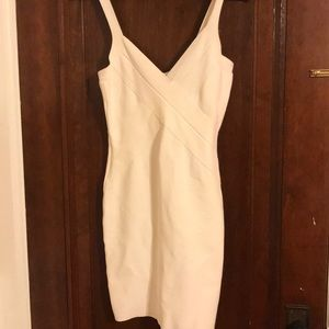 White BCBGMaxAzria Party dress